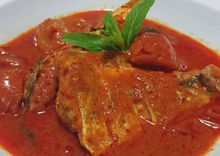 Malaysian Hot & Sour Fish Dish