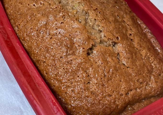 Recipe: Delicious Zucchini Bread
