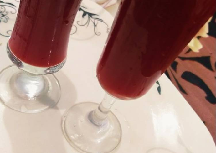 Step-by-Step Guide to Make Favorite Mix fruits juice