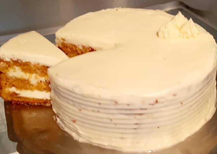 Recette Appétissante Carott cake (gâteau à la carotte et cream cheese)