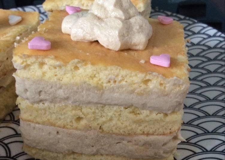 Gâteau crème café