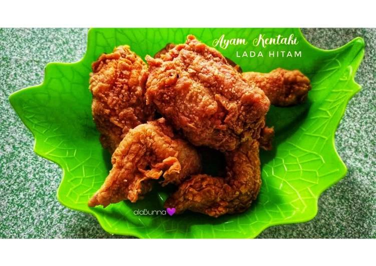 57. Ayam Kentaki Marinasi Lada Hitam / Ayam Crispy Lada Hitam