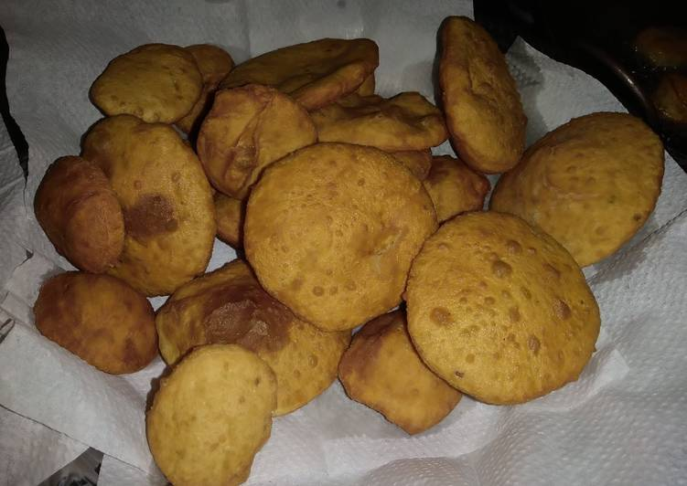 Mandazi with cardamom pods #favoritekidsrecipe