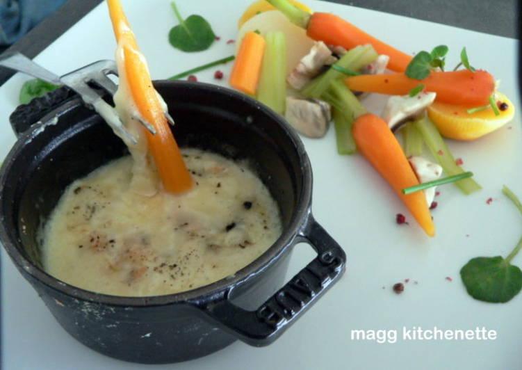 Recipe: Yummy Fondue de légumes au reblochon