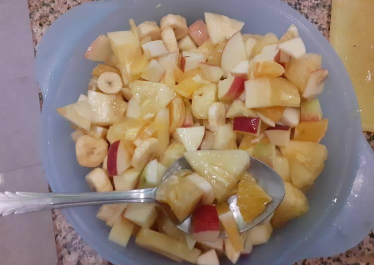 Recipe of Speedy Tropical fruit salad