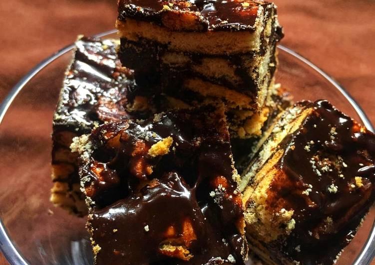 Cara Mudah Masak: Kek Batik Achu  Dirumah