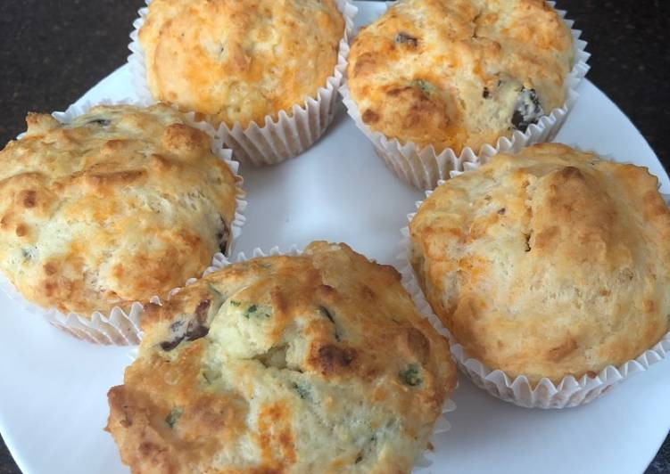 How to Boost Your Mood with Food Cheese and olive muffins