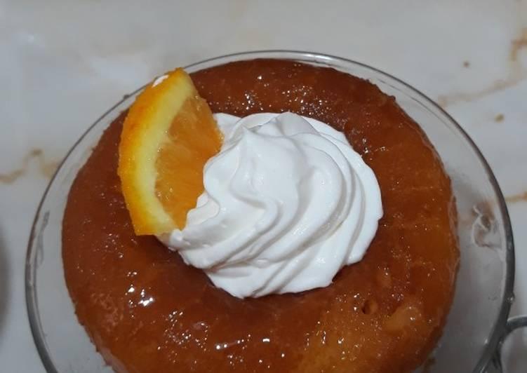 Baba à l'orange