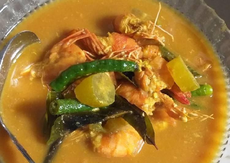 Resep Asam Keueng Udang Simple Menggugah Selera Resep Dapur Indonesia