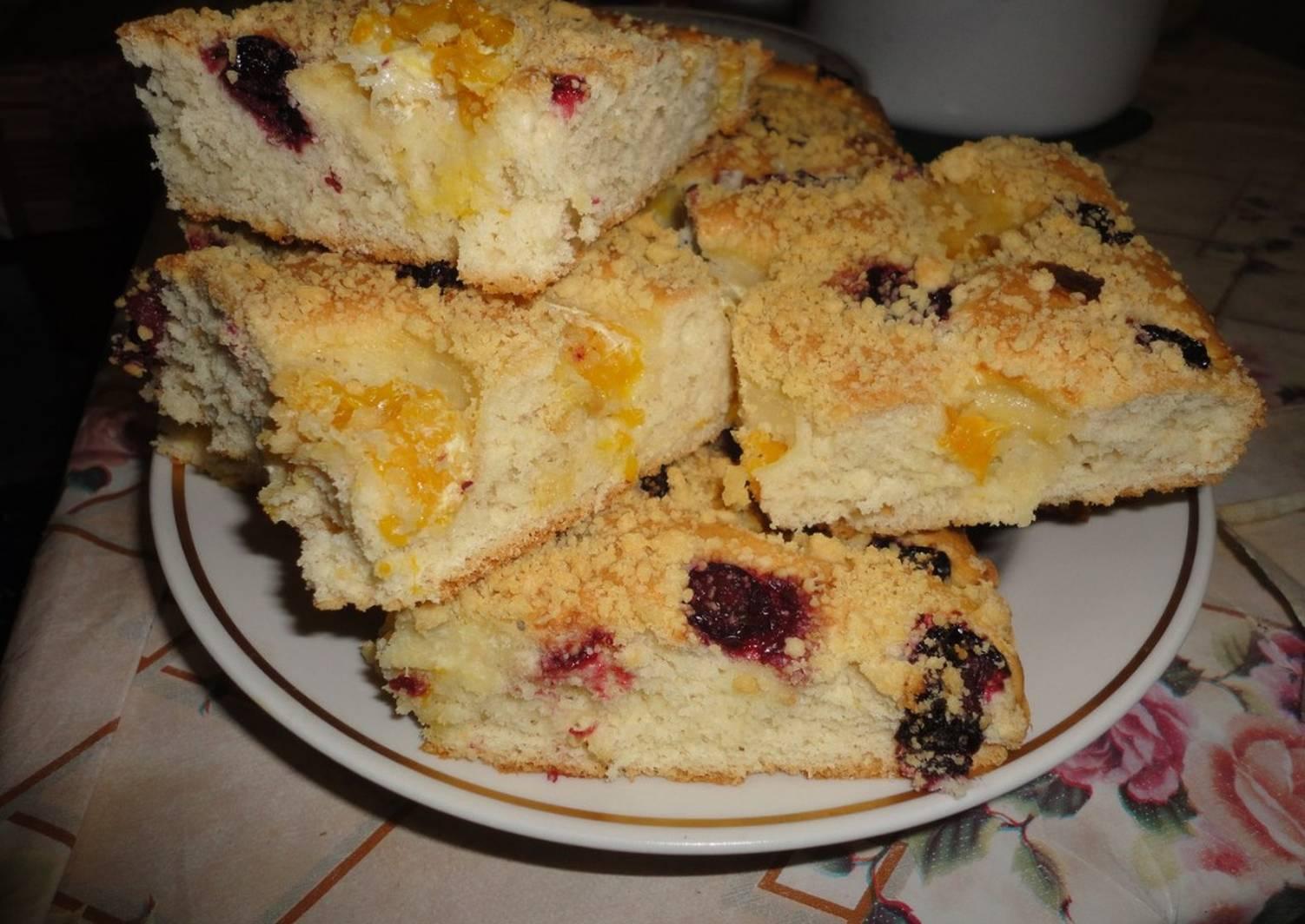 пирог на минеральной воде рецепт с фото бесплатно