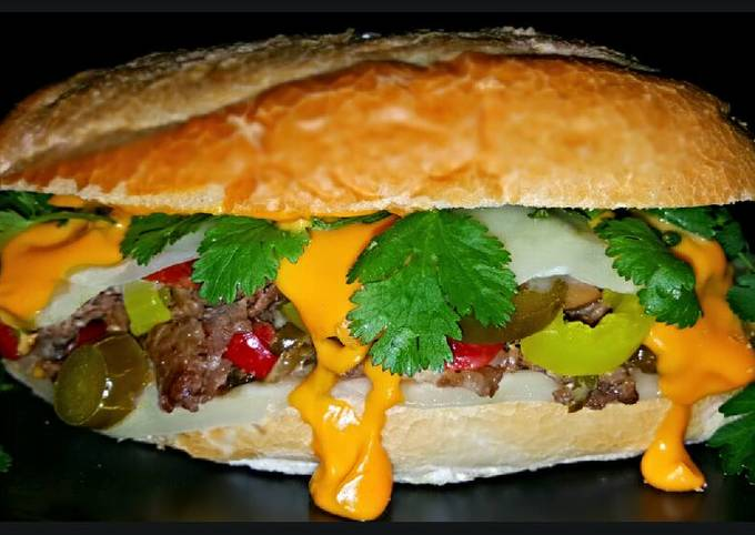 Simple Way to Make Super Quick Homemade Mike's Southwestern Philly Cheese Steak