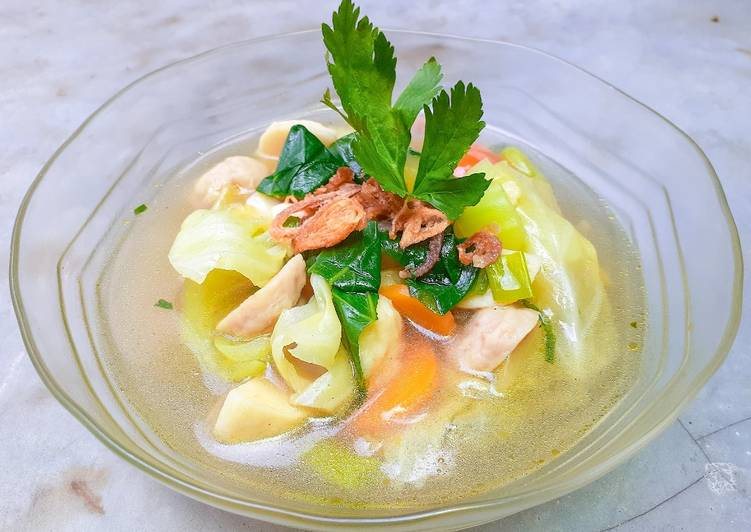 Chicken Soup (sup ayam)