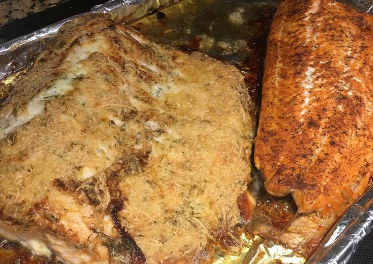 Dale Weaver's Yes-Yes Baked Salmon😋