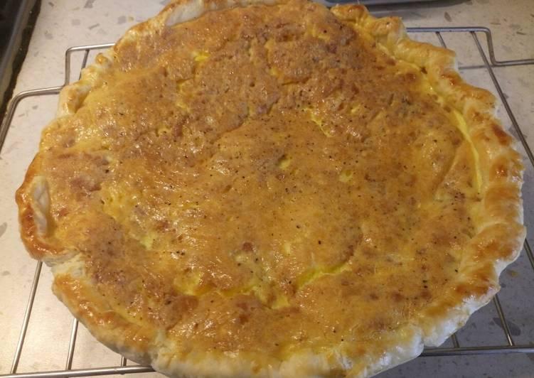 Carbonara pie