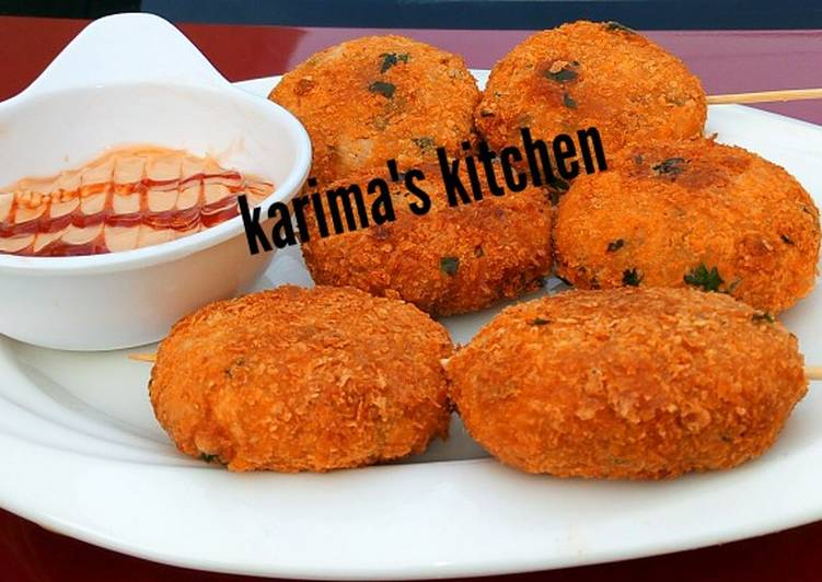 Recipe of Favorite Yam nuggets kebab