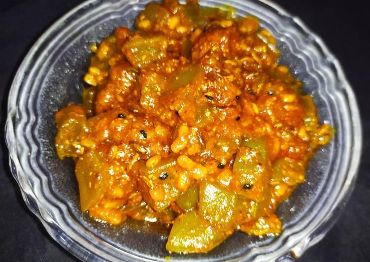 Recipe of Super Quick Homemade Methi Aloe Vera pickle