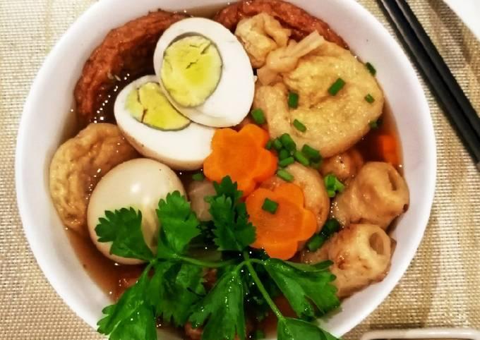 Hokahoka Oden soup