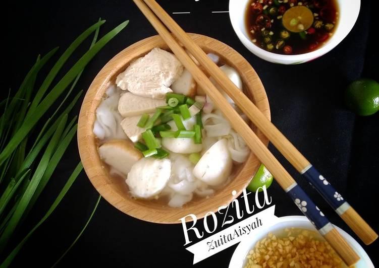 Resipi Kueteaw Sup Chinese Style Oleh Rozita Zuitaaisyah