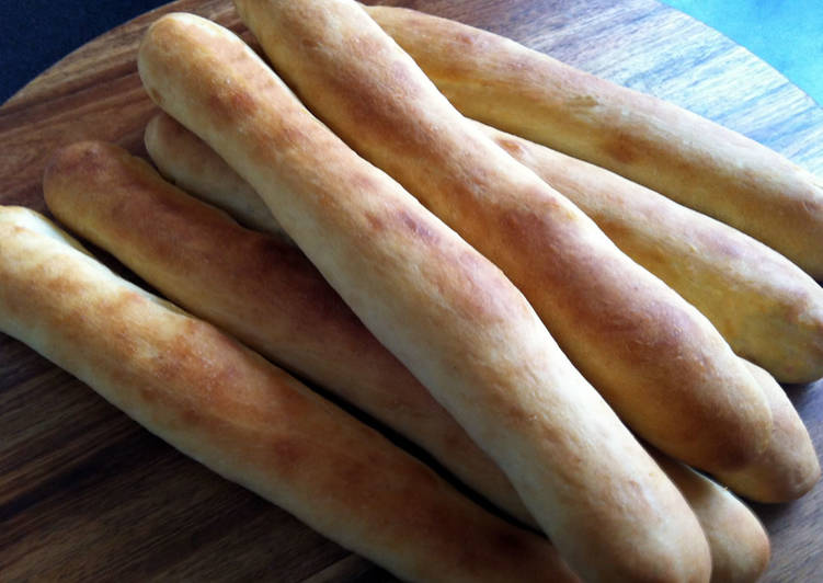 Simple Way to Prepare Super Quick Homemade Milky Stick Bread
