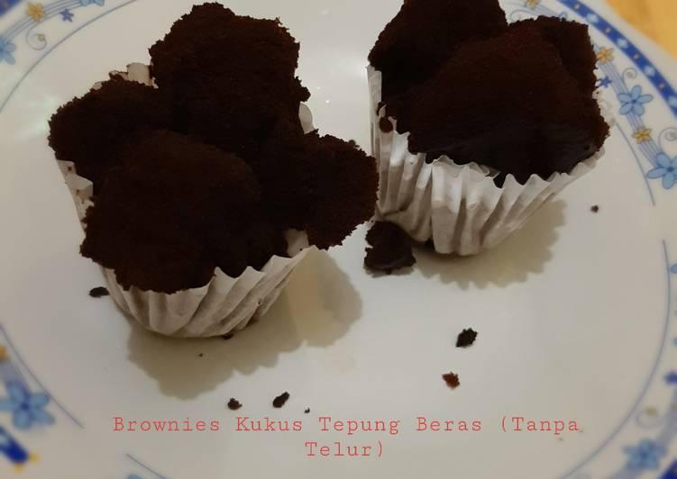 Brownies Kukus Tepung Beras - cookandrecipe.com
