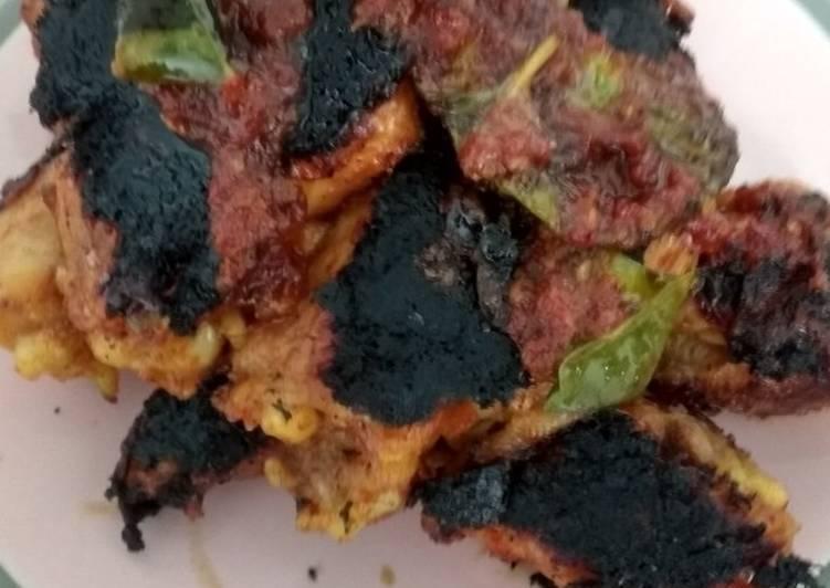 Ayam bakar bumbu rujak (merah)