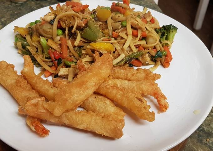 Chicken Stir Fry 🍜