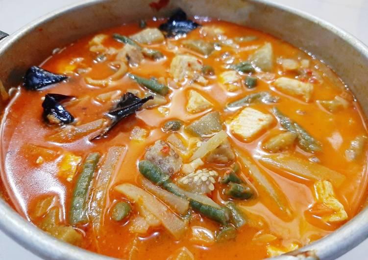 Rahasia Membuat Sayur Lodeh (Kacang Panjang, Terong, Labu Siam, dan Tahu) Kekinian