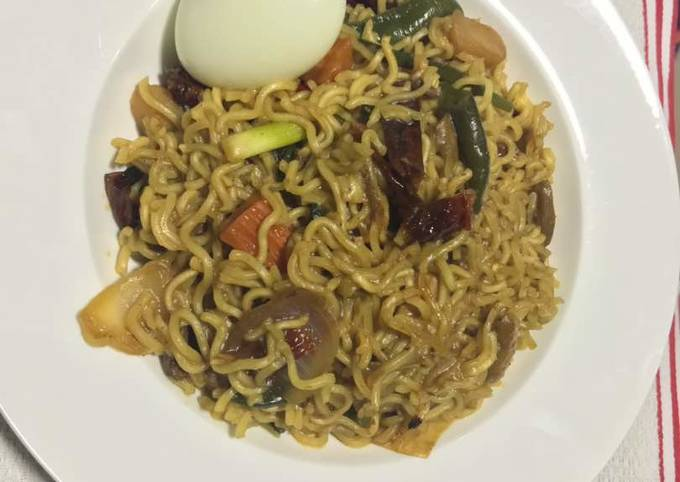 Noodles with Leftover Oyster Sauce