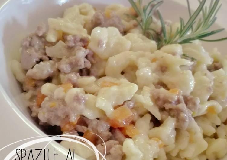 Ricetta Spaztle al ragù bianco toscano
