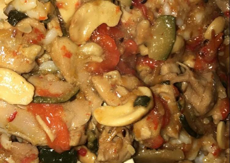 Crockpot Kung Pao Chicken