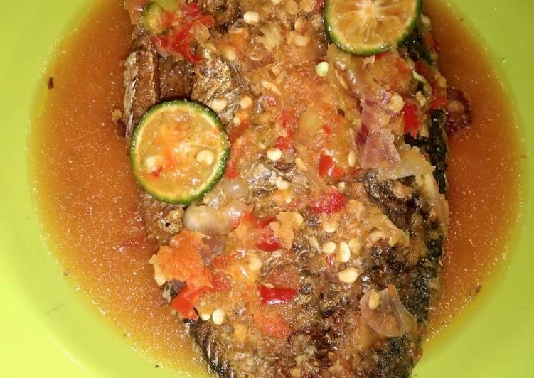 Pecak Ikan Mujaer