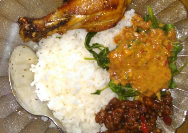 Resep Nasi pecel ndeso#sarapanku , Enak Banget