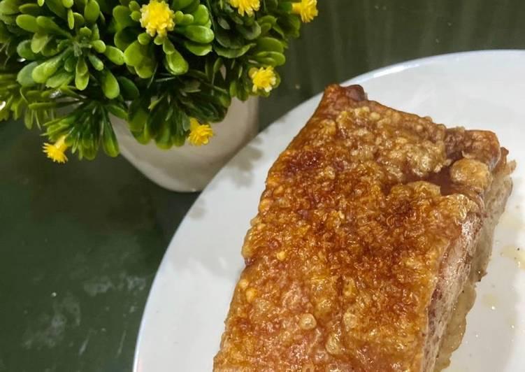 Easy Crispy Skin Pork (non-halal)