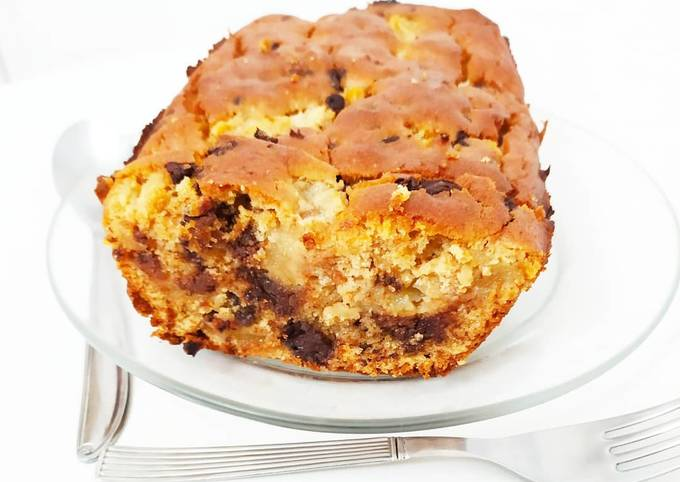 Cake chocolat - poire vegan