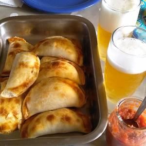 Deliciosas Empanadas de merluza y algunos frutos de mar