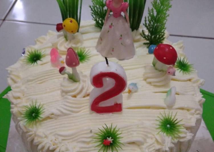 Resep Kue Ulang Tahun Anak Sederhana Oleh Bunda Nisa Cookpad