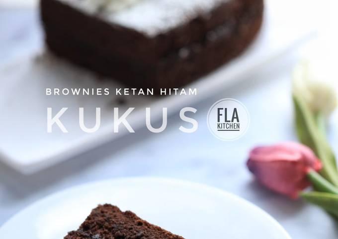 Brownies Ketan Hitam (Kukus)