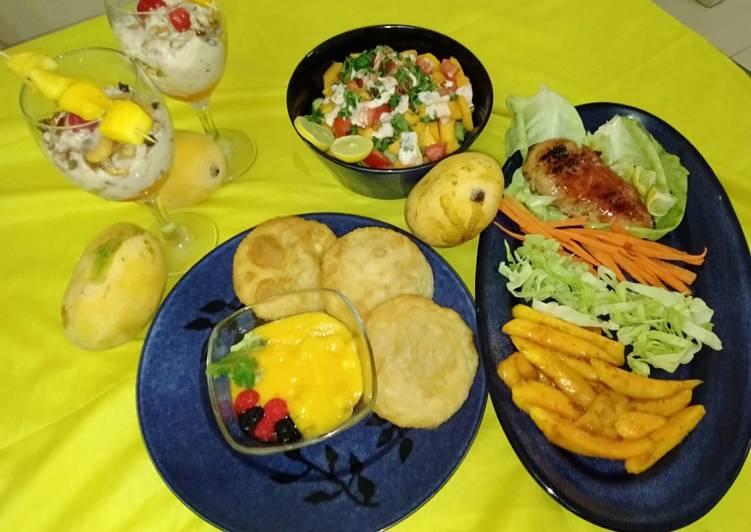 Mango platters