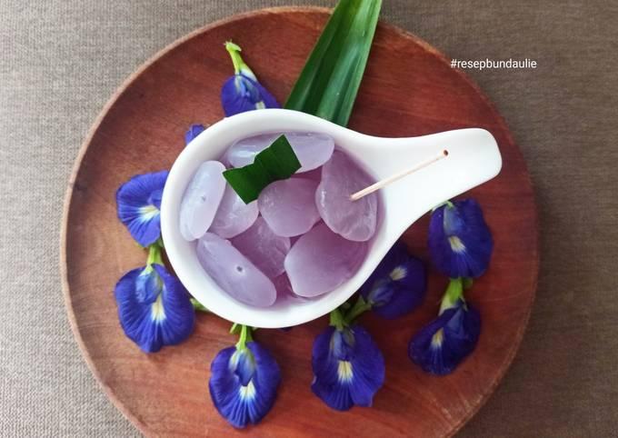 Kolang kaling telang ungu