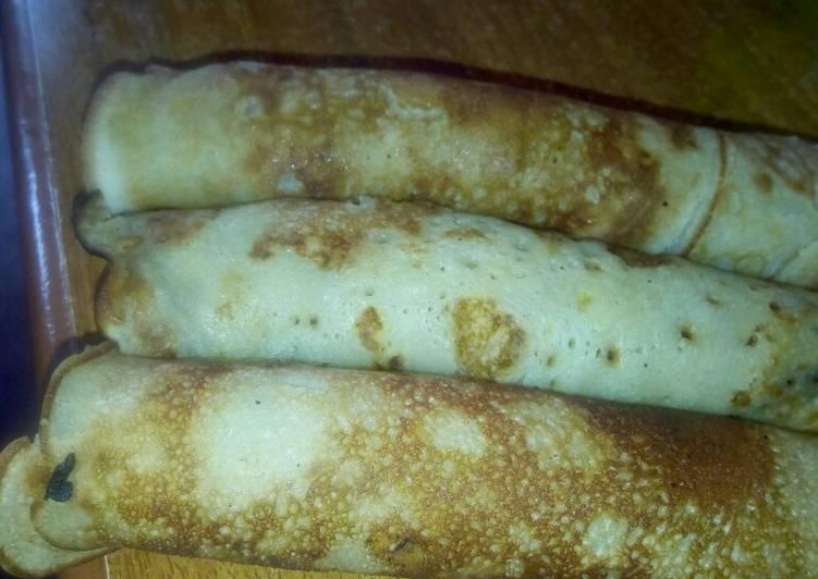 Banana pancakes,