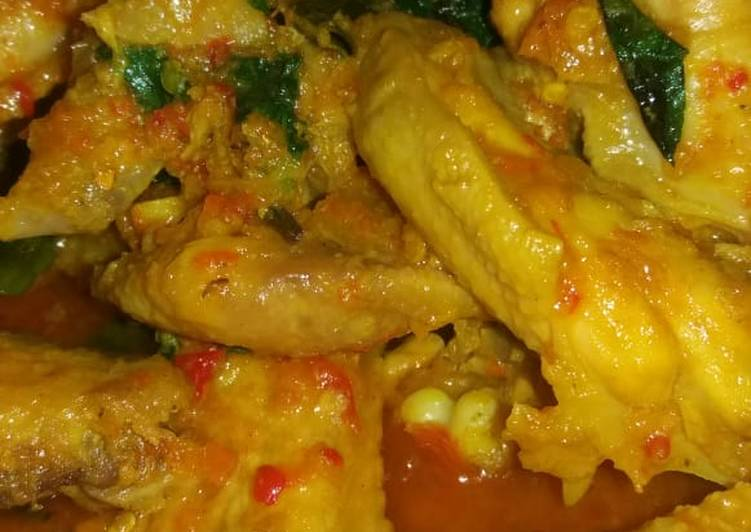 Resep Sayap ayam rica rica kemangi sederhana yang Sempurna
