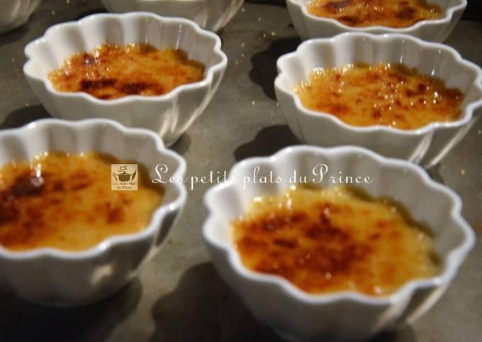 Crèmes brûlées au foie gras, recette simplifiée