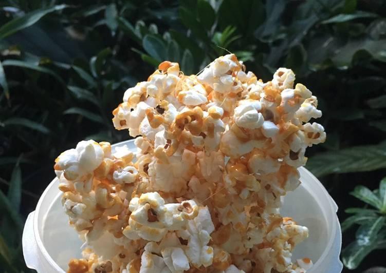 Resep Salted Caramel Pop Corn Oleh Febiola Ratna Dewi Cookpad