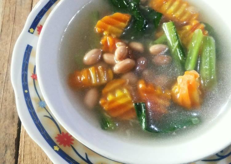 Sup Simpel Kacang Tanah Wortel