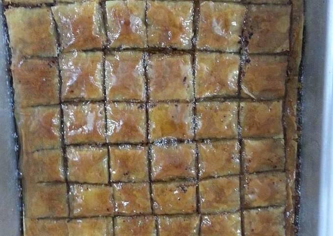 Easiest Way to Prepare Appetizing Baklava