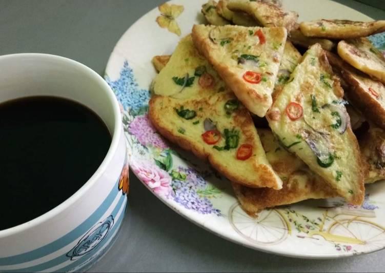 Resepi:  Roti Telur by bunda iin  Dirumah