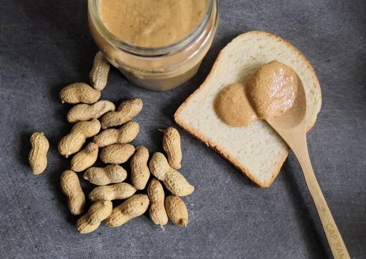 Beurre de cacahuètes maison