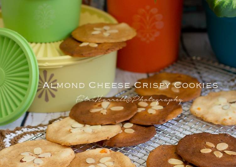 Resep Almond cheese crispy