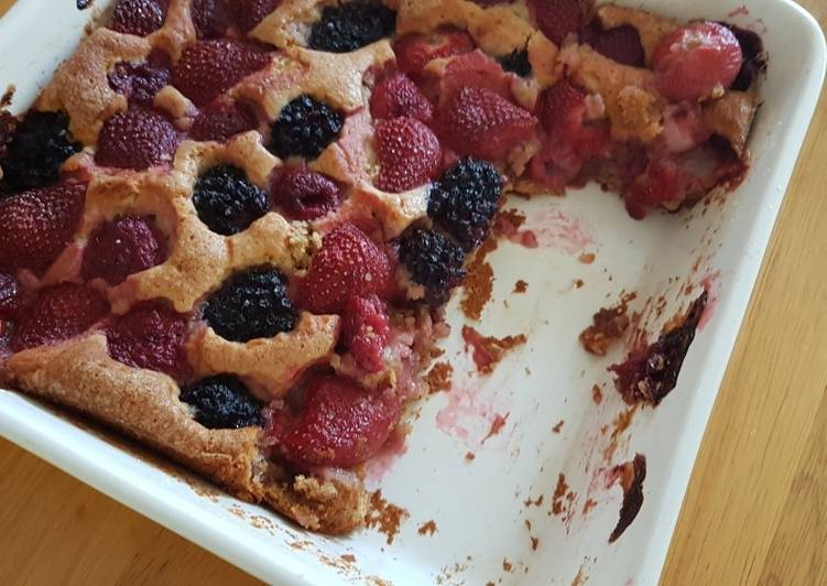 Step-by-Step Guide to Make Perfect Mixed berries cake