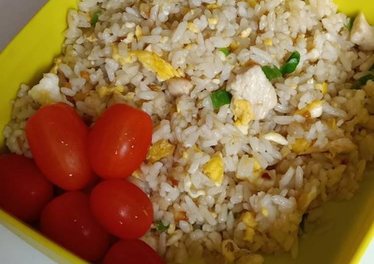 Nasi goreng hongkong simpel sederhana